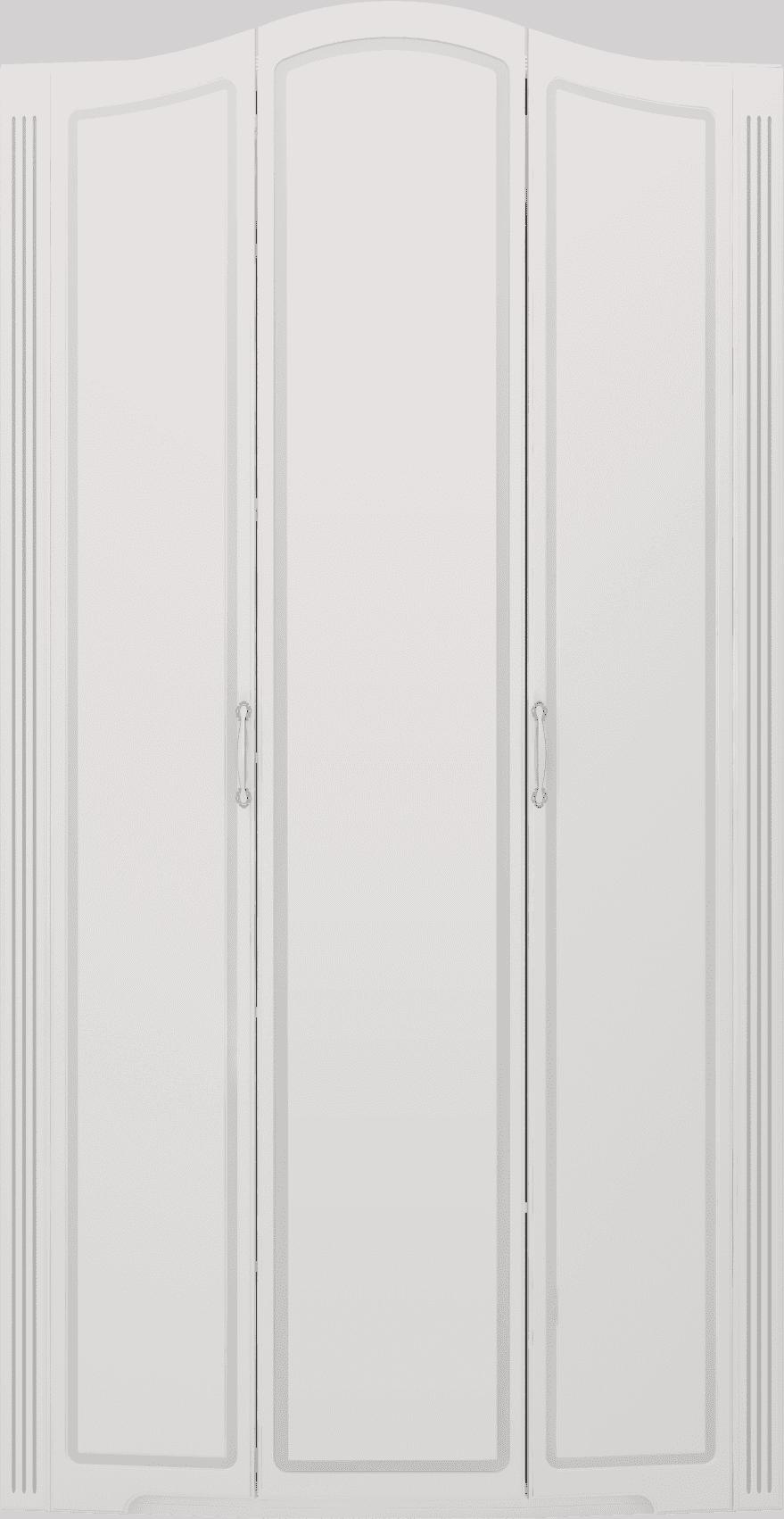 """Спальня Виктория (комплект 2) """"Ижмебель"""" - фото 09 Виктория Шкаф для одежды 3-х дверный (без зеркала)"""