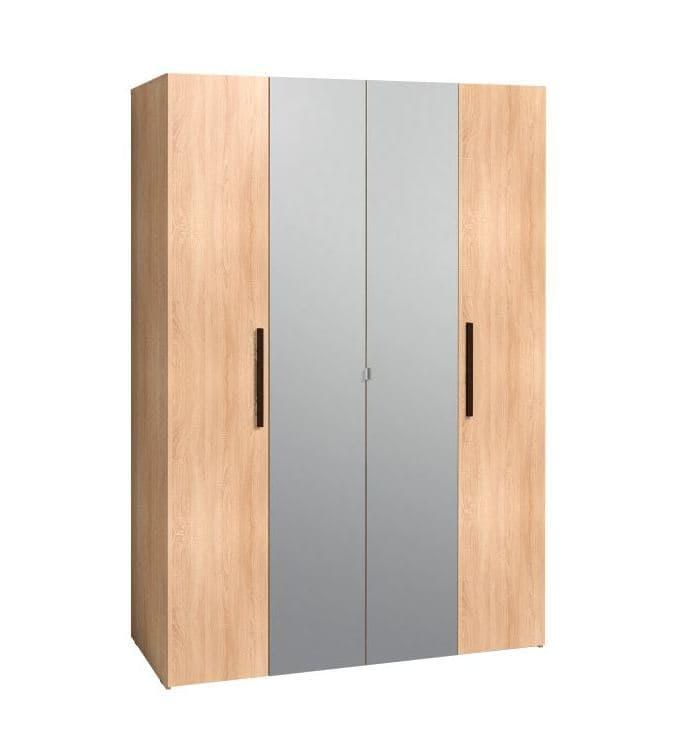 Спальня Баухаус BAUHAUS (комплект 1) - фото Шкаф для одежды и белья Bauhaus 9