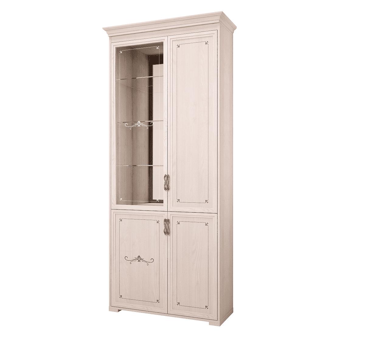 Шкаф для книг Афродита 10, без карниза