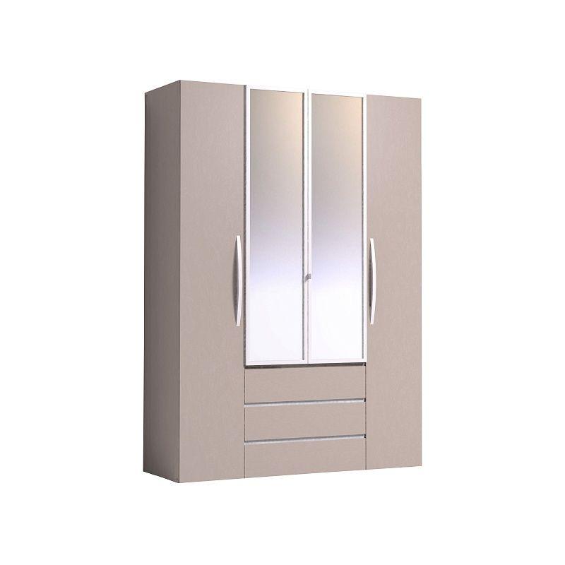 Шкаф для одежды и белья Brownie 555