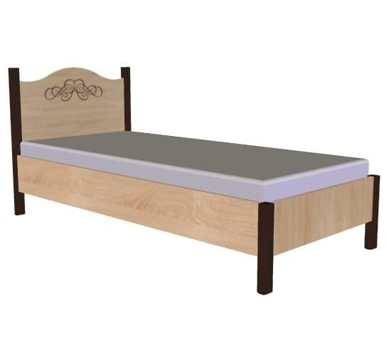 Спальня ADELE (комплект 4) - фото Кровать 90*200 без основания, без матраса ADELE 5