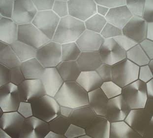 Угловой шкаф-купе Радиус - фото Грани 3d (искусственная кожа)