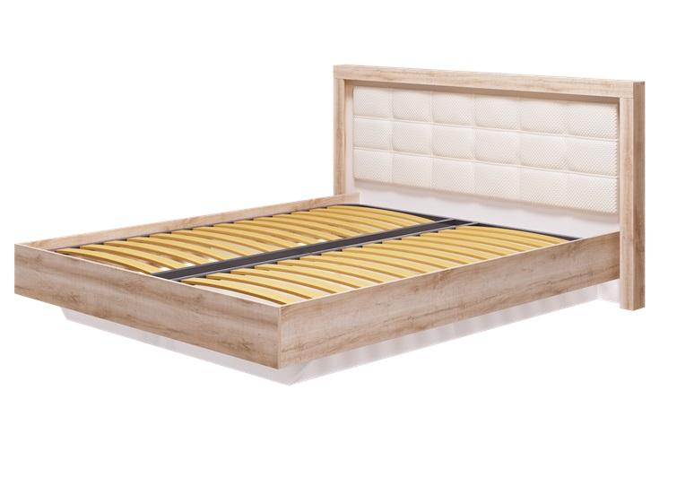 Кровать 1600 мм Люмен, без ортопеда и матраса 12а