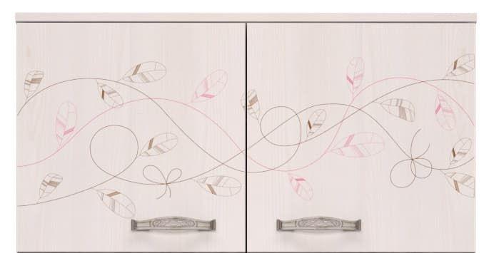Детская комната Принцесса Комплект 2 - фото 2 Принцесса Антресоль к шкафу для одежды