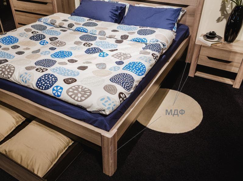 Кровать Афина мод.А3 160*200 (каркас), без ортопеда, без матраса