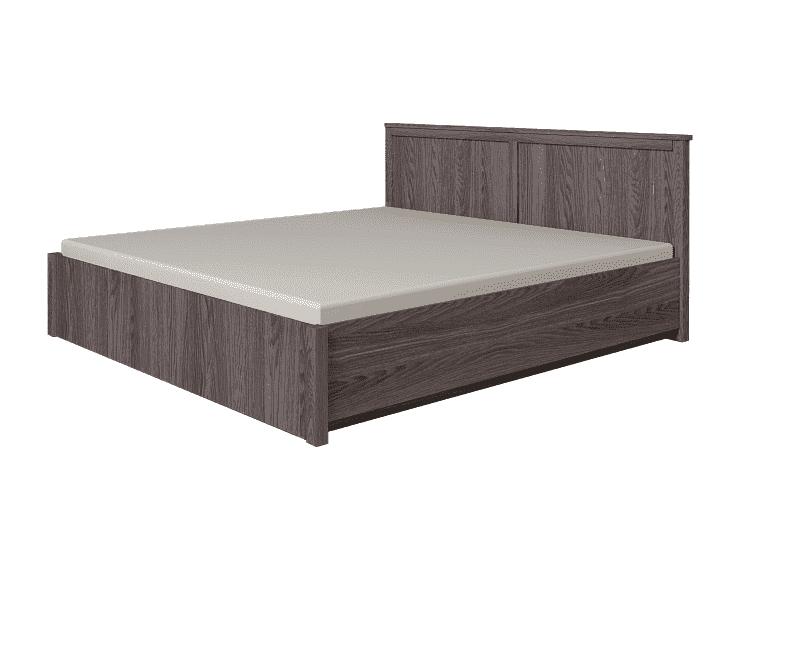 Кровать 160 с подъемным механизмом Sherlock 42.2, без матраса, Ясень Анкор