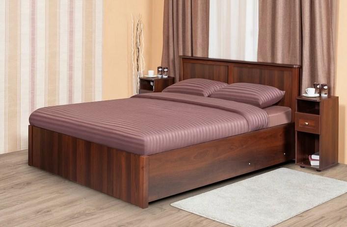 Спальня SHERLOCK Шерлок Комплект 1 - фото Sherlock 41.2 Кровать 180 с подъемным механизмом, без матраса