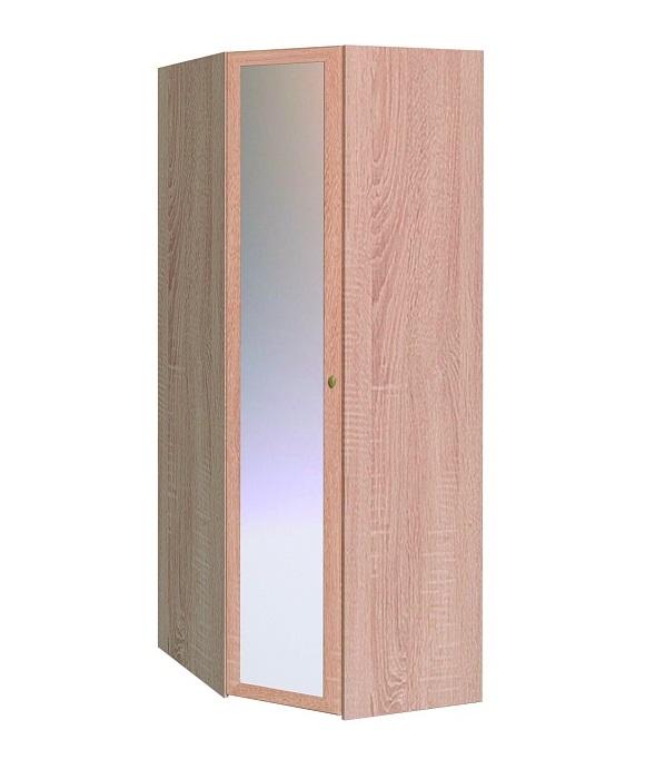Шкаф угловой Sherlock 63, фасад Зеркало (Сонома)