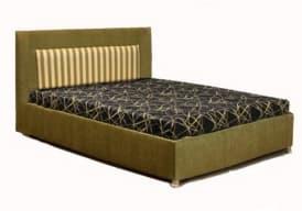 Кровать с мягким изголовьем Сандра