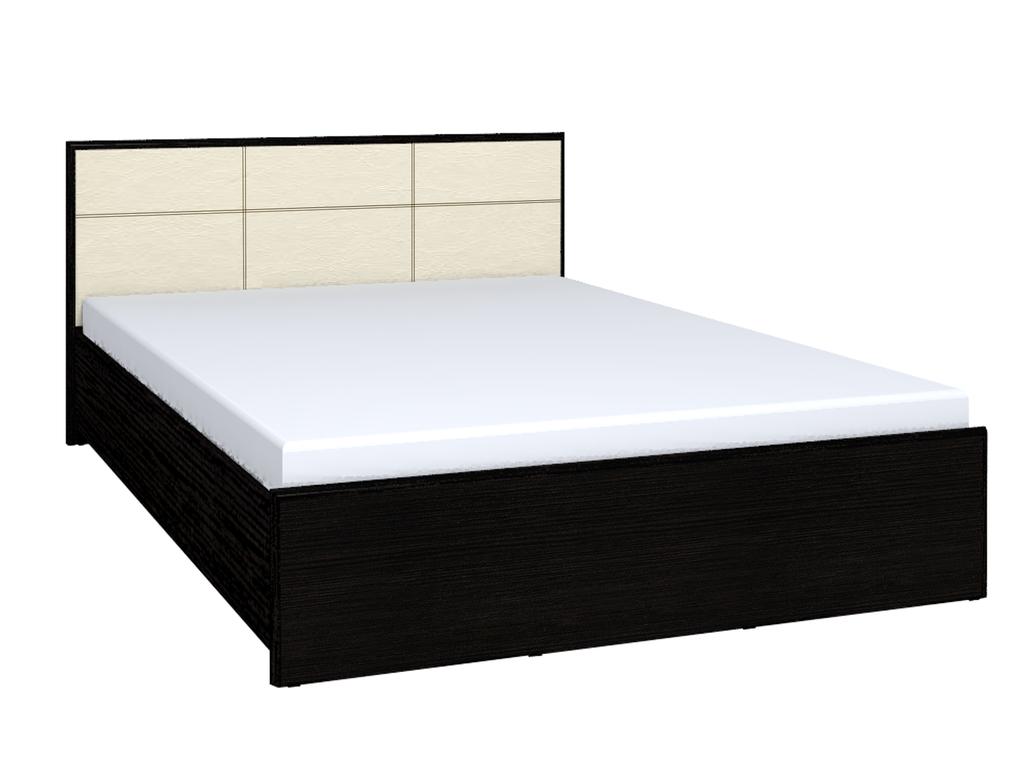 Кровать Амели Люкс 101 (1800) без основания, без матраса, венге