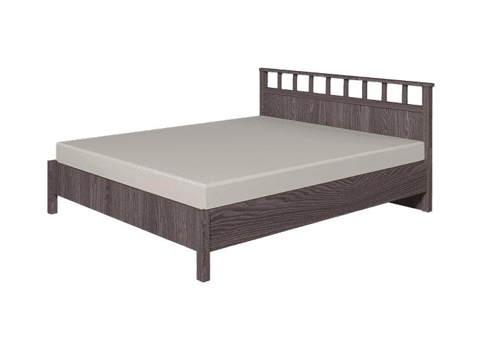 Кровать Sherlock 47 Люкс 160, каркас, Ясень Анкор