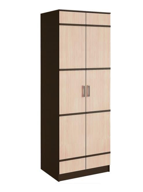 Спальня Сакура (комплект 3) - фото Шкаф 2-х дверный Сакура