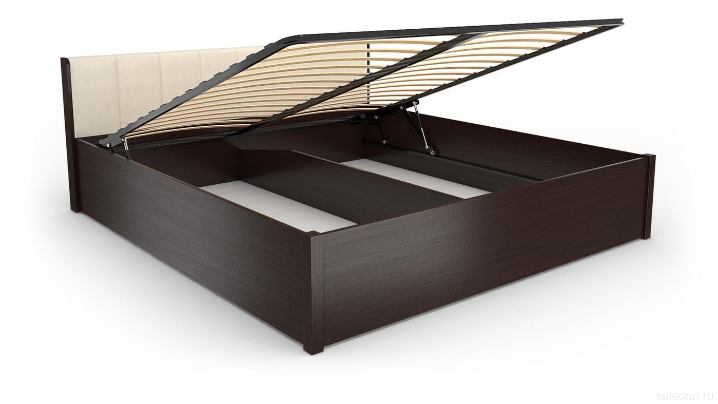 Кровать BERLIN 33+33.2 (1400) в комплекте с основанием и подъемным механизмом (1400)
