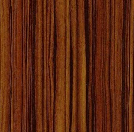 Угловой шкаф-купе Радиус - фото Макассар темный (МДФ)