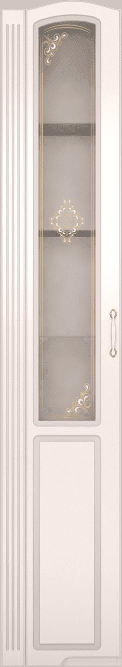 Гостиная Виктория (комплект 3) - фото 17 Шкаф-пенал левый со стеклом Виктория