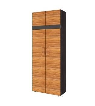 Спальня Hyper (комплект 1) - фото Шкаф для одежды 2. Фасад Палисандр Hyper