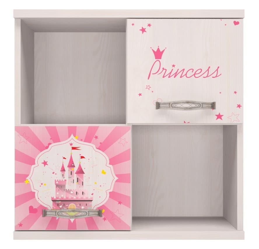Детская комната Принцесса Комплект 2 - фото 10 Принцесса Секция навесная
