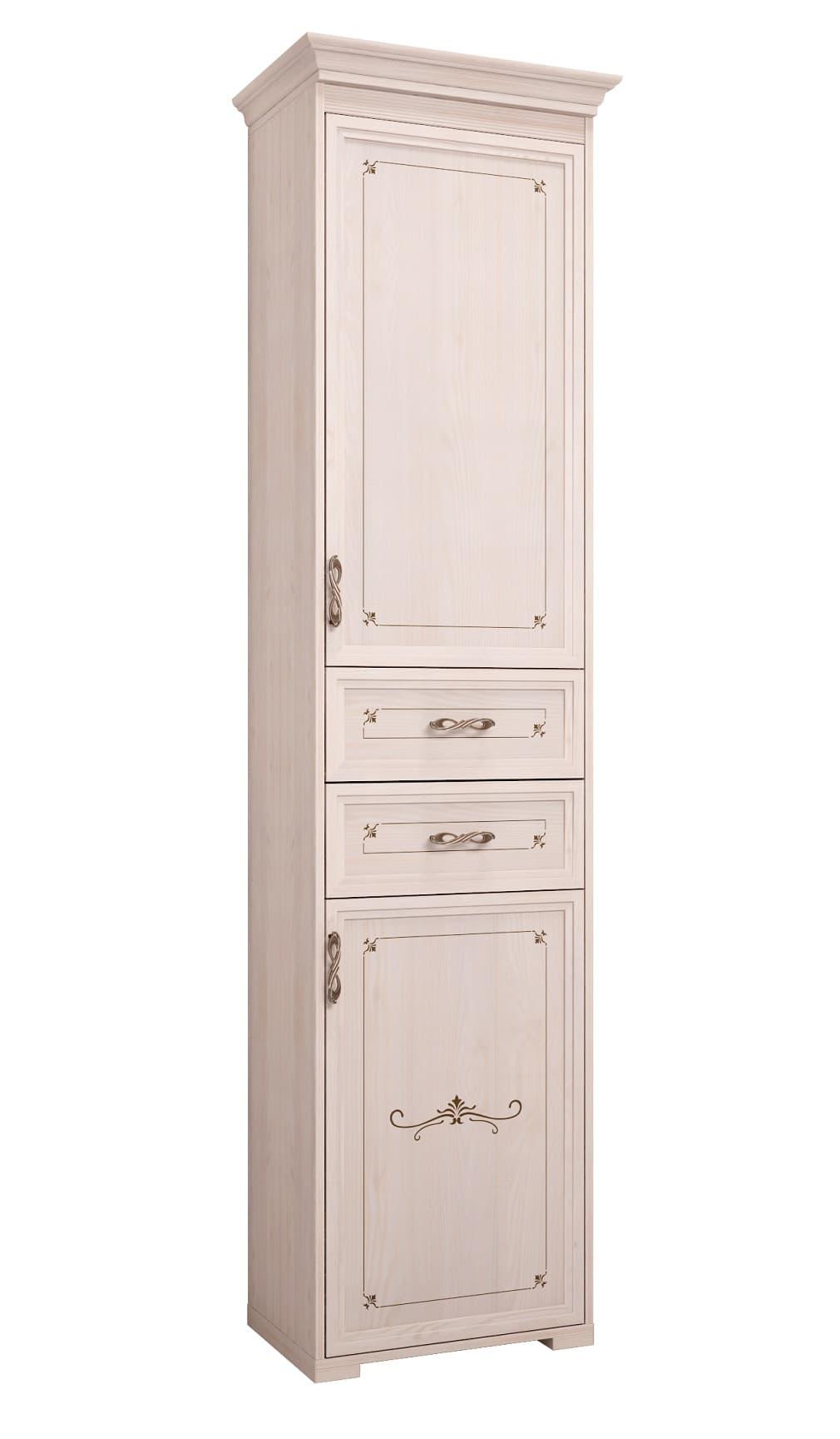 Шкаф комбинированный Афродита 28 ПРАВЫЙ (без карниза)
