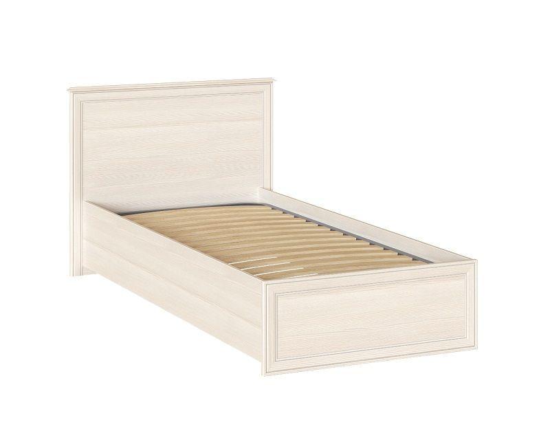 Кровать Венеция 38 одинарная 900мм с латами, Бодега светлая