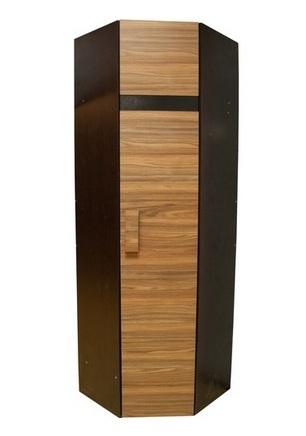 Спальня Hyper (комплект 1) - фото Шкаф угловой 2 Фасад Палисандр Hyper (правый)