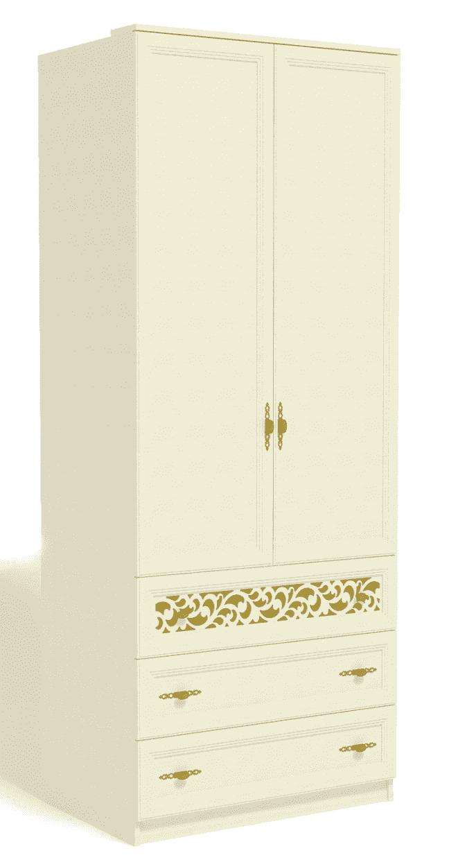 Спальня Ливадия Комплект 3 - фото Шкаф для одежды Ливадия Л2