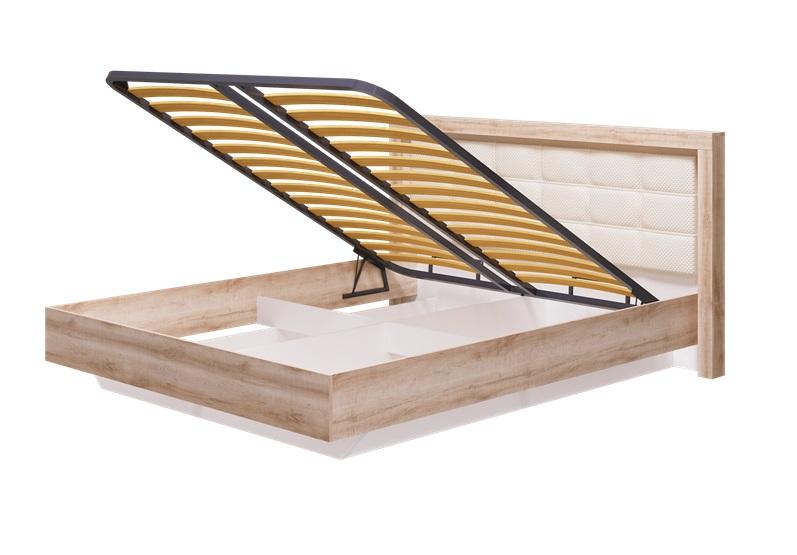 Кровать 1600 мм с ПМ Люмен, без матраса 12