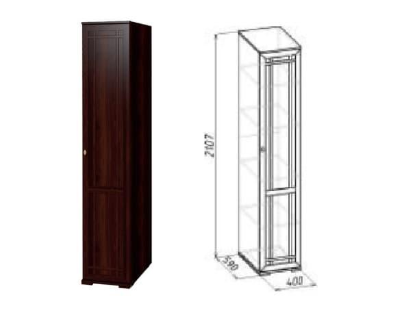 Шкаф для белья, ПРАВЫЙ Sherlock 91