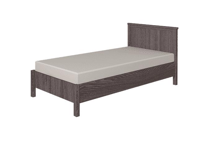 Кровать Sherlock 45 90, каркас, Ясень Анкор