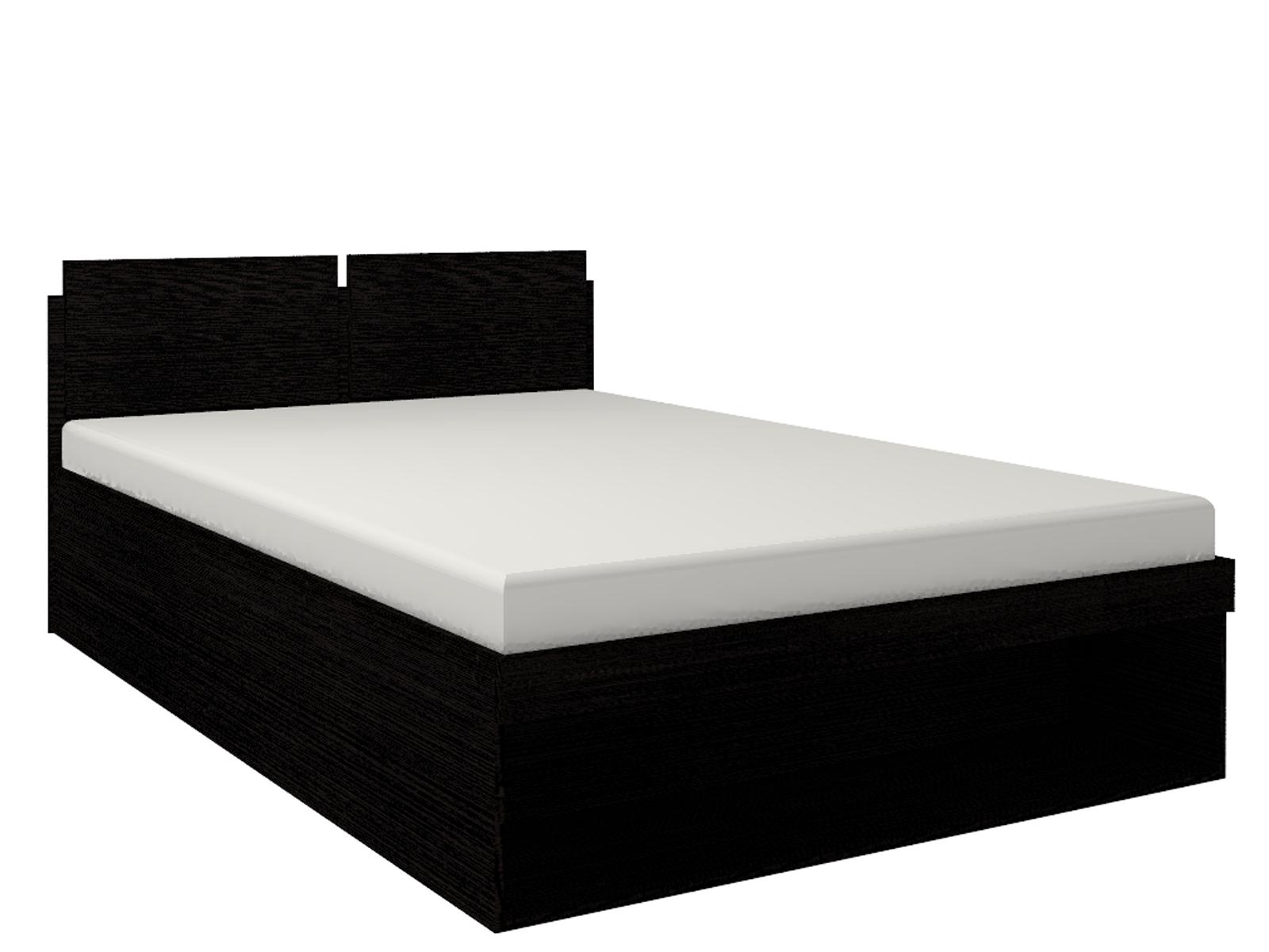 Спальня Hyper (комплект 1) - фото Кровать 2 Hyper 160*200 с подъемным механизмом (Венге монохром)