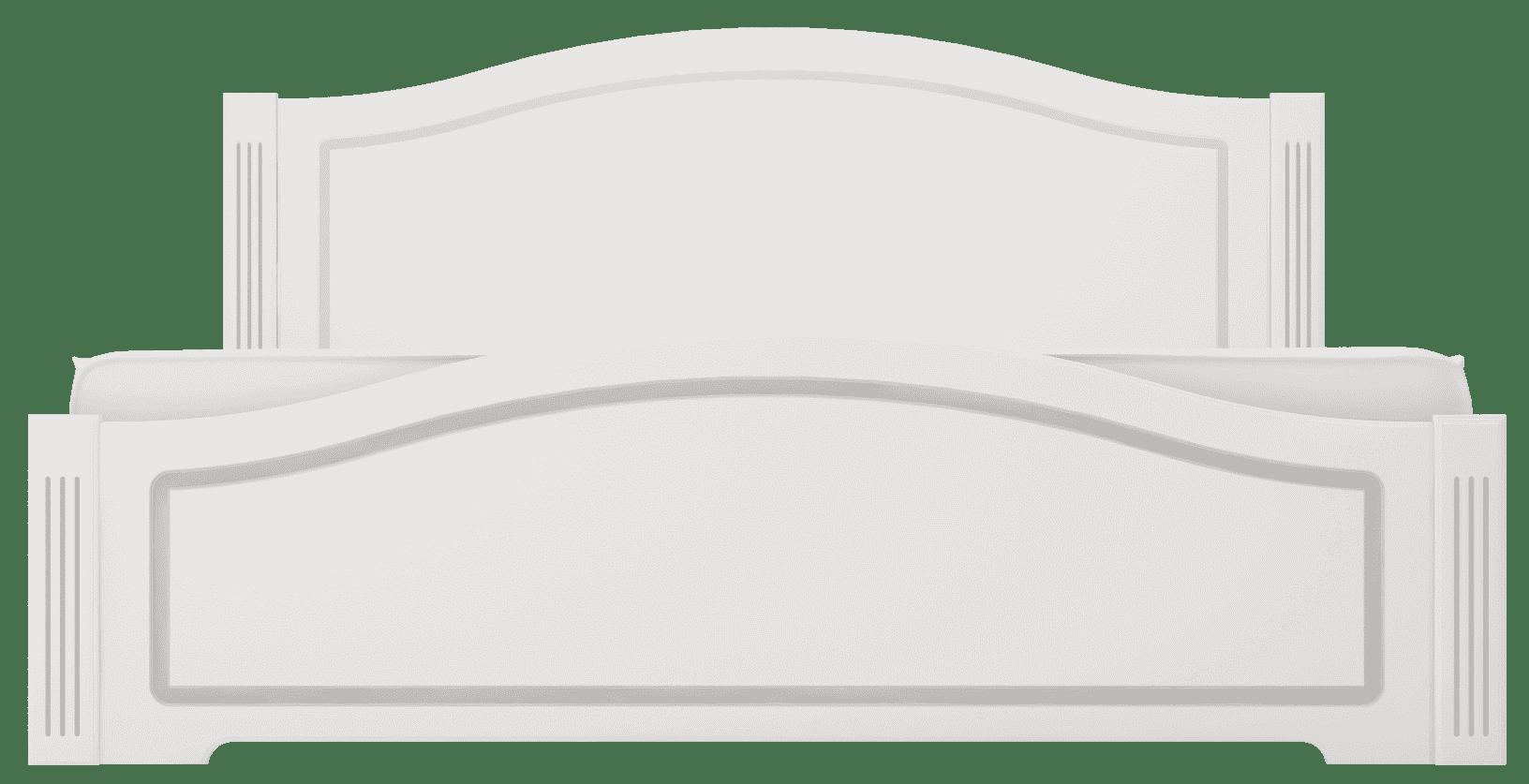 """Спальня Виктория (комплект 2) """"Ижмебель"""" - фото 21 Виктория кровать 140*200 см с латами, без матраса"""