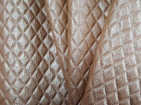 Угловой шкаф-купе Радиус - фото Монро бежевый (искусственная кожа)