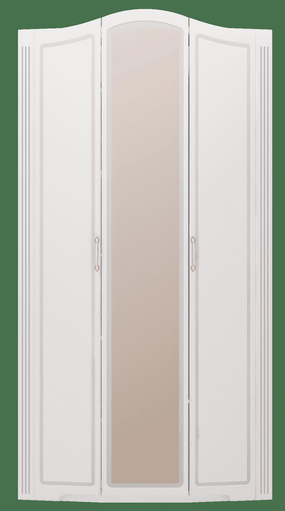 """Спальня Виктория (комплект 2) """"Ижмебель"""" - фото 09 Виктория Шкаф для одежды 3-х дверный (с зеркалом)"""