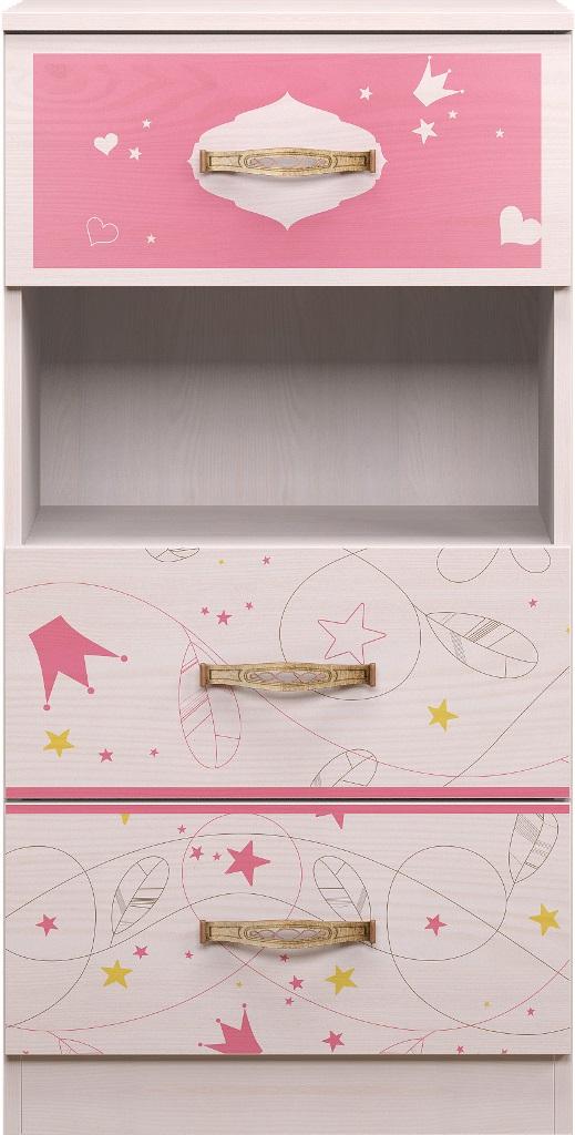 Детская комната Принцесса Комплект 2 - фото 13 Принцесса Тумба с нишей