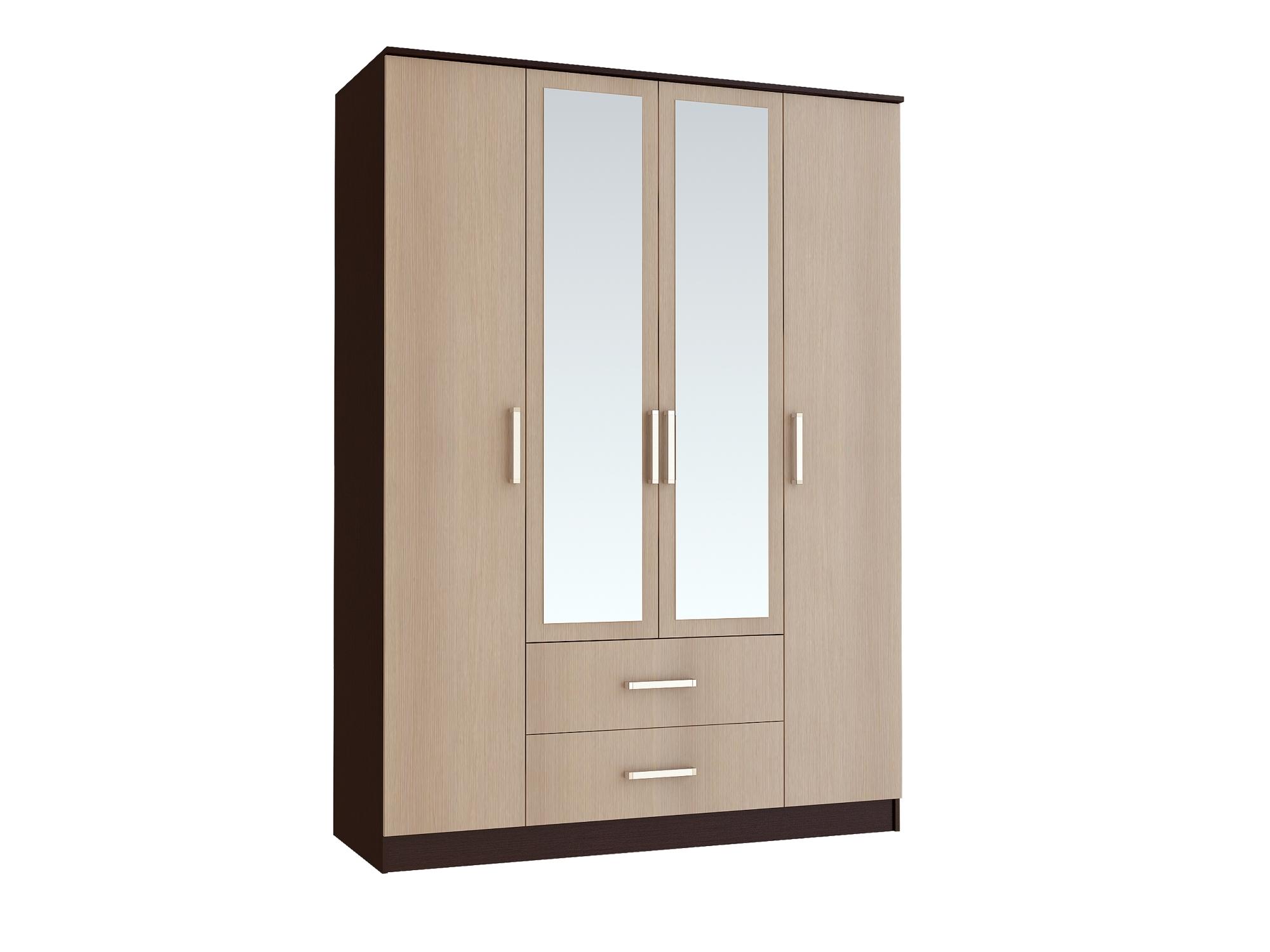 Спальня Фиеста (комплект 1) - фото Шкаф 4-х дверный Фиеста