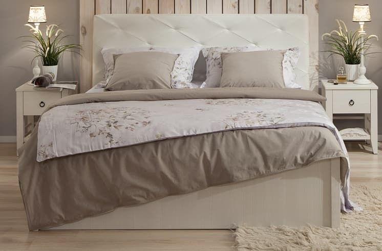 Спальня Марсель (комплект 1) - фото Кровать Люкс с подъемным механизмом (160) Марсель 37.2