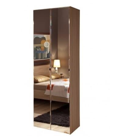 Спальня Баухаус BAUHAUS (комплект 1) - фото Шкаф для одежды + 2 фасада Зеркало Bauhaus 8