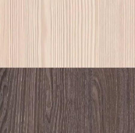 Шкаф для одежды и белья Майя 8 (гостиная) +ФАСАД - фото Бодега Светлый/Ясень Анкор Темный