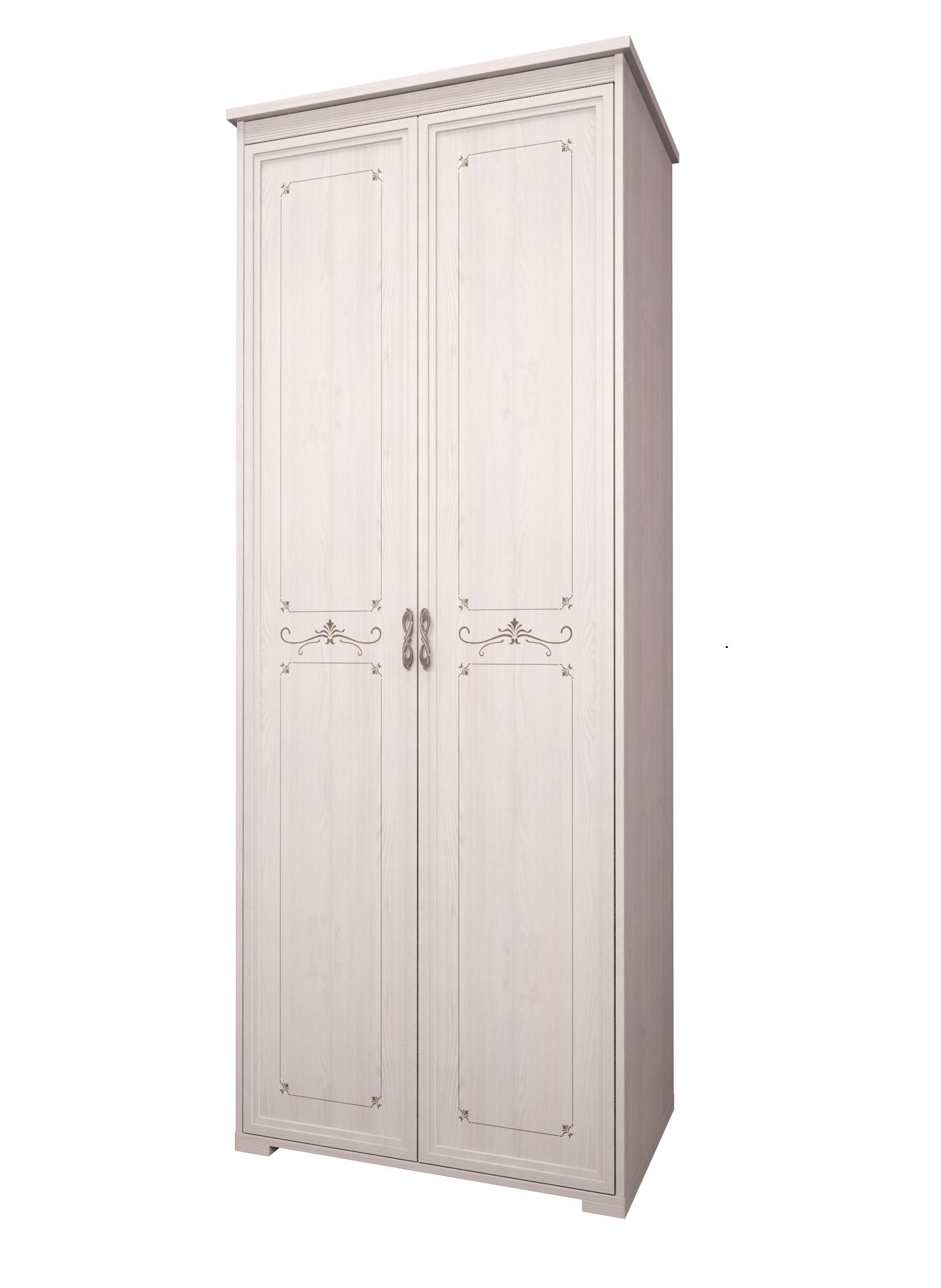 Шкаф для одежды 2-х дверный Афродита 08 (без карниза)