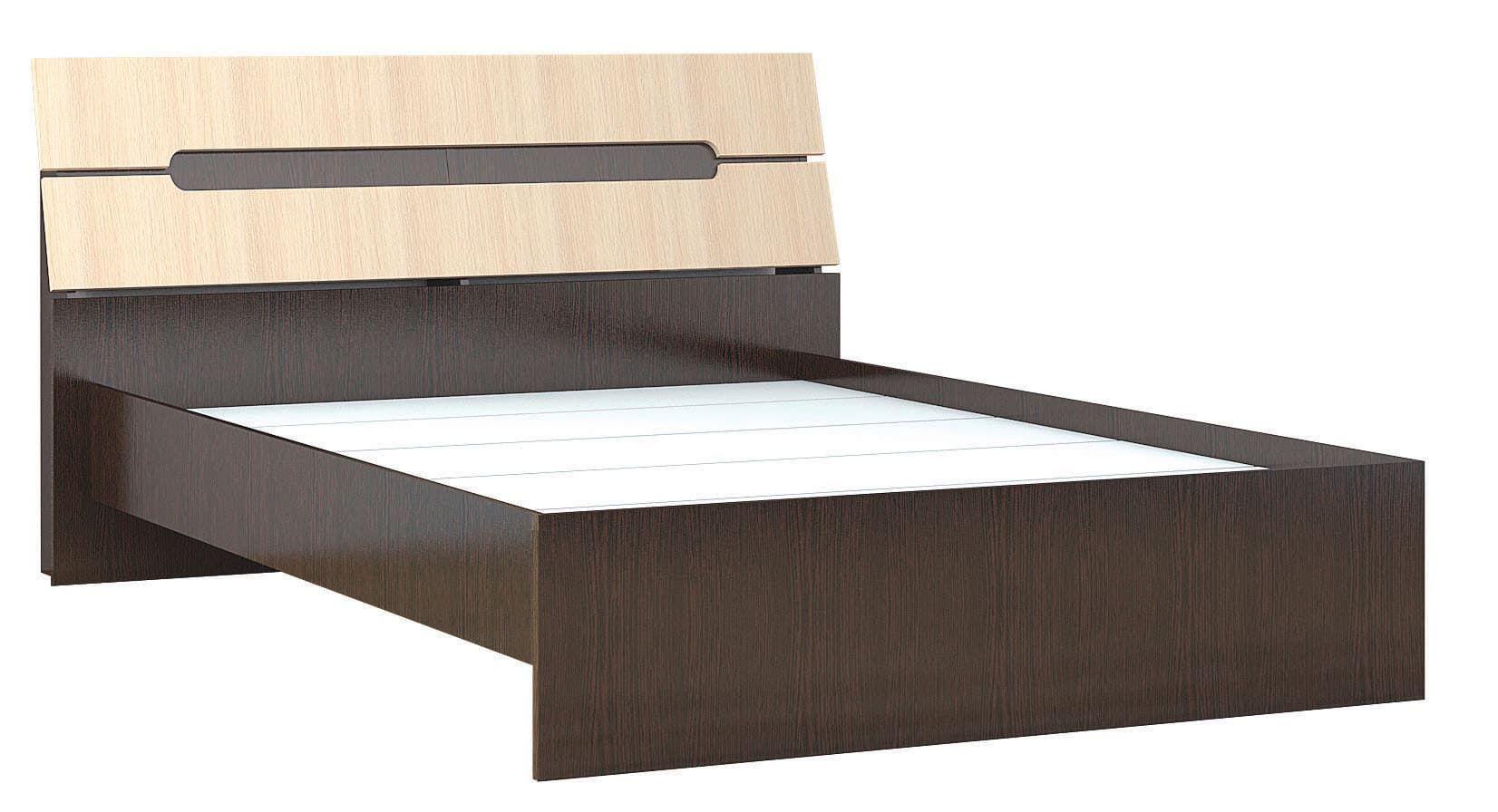Кровать Гавана 1,6 с основанием ДСП, без матраса