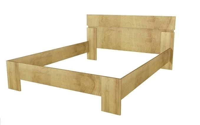 Кровать Шервуд Ш3 (каркас) 160*200, без ортопеда, без матраса