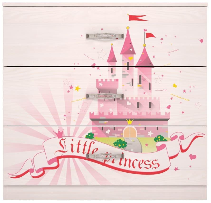Детская комната Принцесса Комплект 2 - фото 3 Принцесса Комод