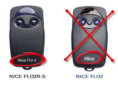Пульт Nice Flo4R-S (433.92Мгц) для ворот шлагбаумов - фото Не совместимые пульты