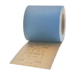 Р40 115мм*25м SMIRDEX 635 Cloth-ZX Абразивная ткань в рулонах