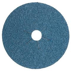Р80 180мм Fiber Discs Zirconia Круг фибровый шлифовальный