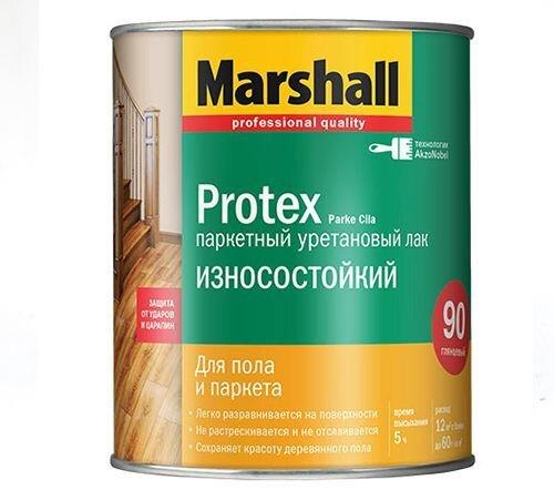 Лак для паркета Marshall Protex Parke Cila, банка 2,5 л - фото pic_c6717638a45a50e_700x3000_1.jpg