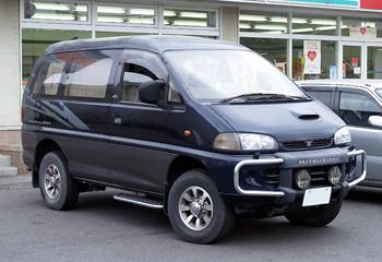 История Хёндай Старекс - фото Mitsubishi Delica