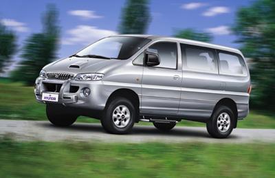История Хёндай Старекс - фото Hyundai Starex 2000-2004гг.