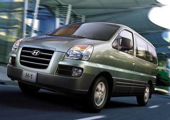 История Хёндай Старекс - фото Hyundai H-1 htqcnfkk 2004-2007г.