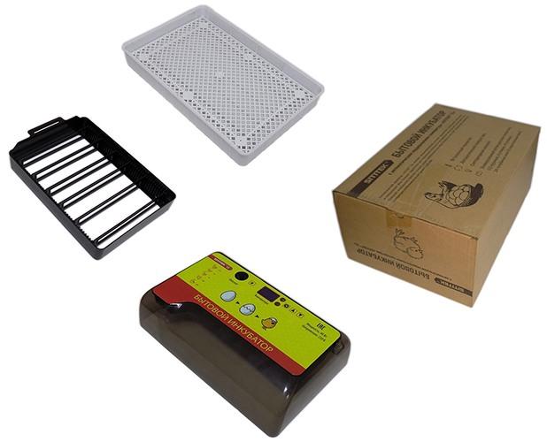Инкубатор SITITEK 12 в разобранном виде с упаковочной коробкой