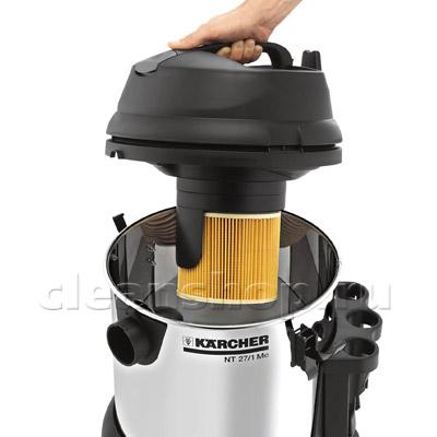 Пылесос сухой и влажной уборки Karcher NT 27/1 Me. арт - 1-428-100.0 - фото 2